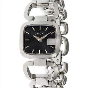 Gucci women's silver watch